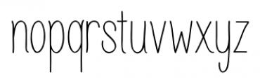 Juvenile Regular Font LOWERCASE