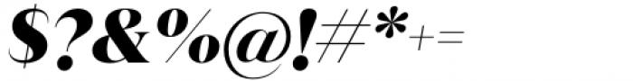 Juana Black Italic Font OTHER CHARS