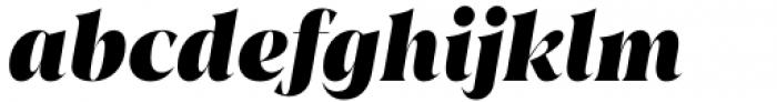 Juana Black Italic Font LOWERCASE