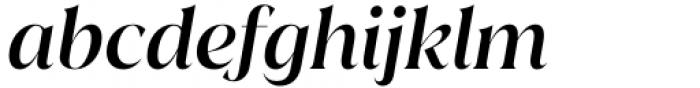 Juana Medium Italic Font LOWERCASE