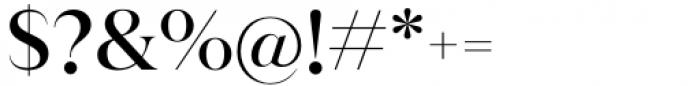 Juana Medium Font OTHER CHARS