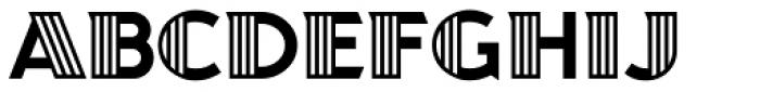 Juanita Deco Font UPPERCASE