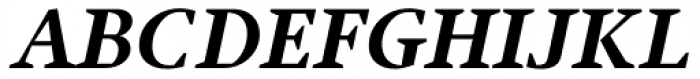 Jude Black Italic Font UPPERCASE