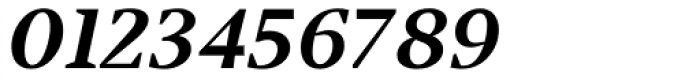 Jude Black Lining Numbers Italic Font OTHER CHARS