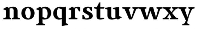 Jude Black Font LOWERCASE