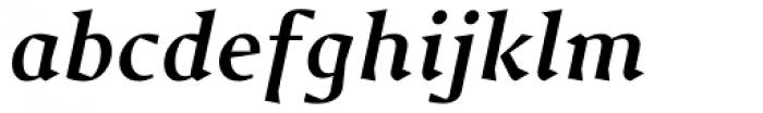 Jude Bold Italic Font LOWERCASE