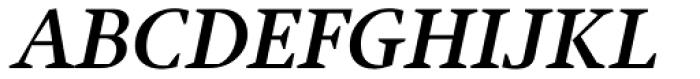 Jude Bold Small Caps Italic Font UPPERCASE
