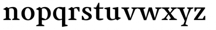 Jude Bold Font LOWERCASE
