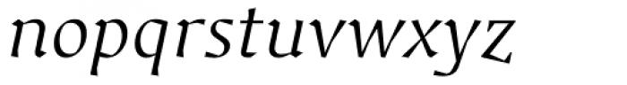 Jude Light Italic Font LOWERCASE