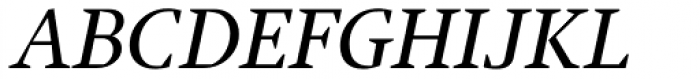 Jude Medium Small Caps Italic Font UPPERCASE