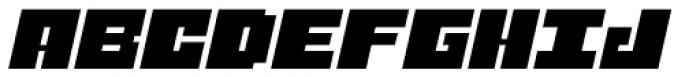Judera Flat Italic Font UPPERCASE