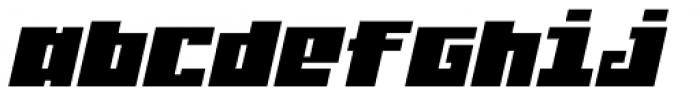 Judera Flat Italic Font LOWERCASE