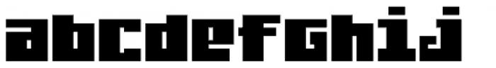 Judera Flat Font LOWERCASE