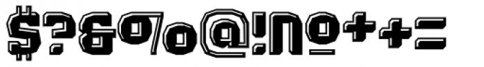 Judgement Black Highlight Font OTHER CHARS