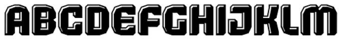 Judgement Black Highlight Font UPPERCASE