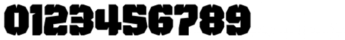 Judgement Black Stencil Font OTHER CHARS