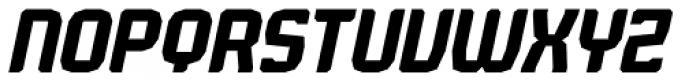 Judgement Medium Italic Font UPPERCASE