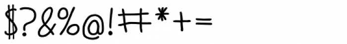 Judlebug DemiBold Font OTHER CHARS