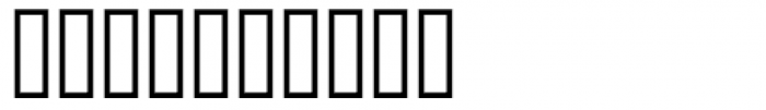 Jugend Font OTHER CHARS