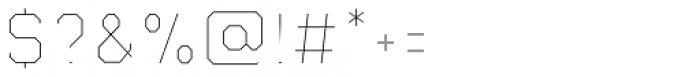 Juju 3 Center Font OTHER CHARS