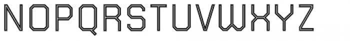 Juju 5 Inline Font UPPERCASE
