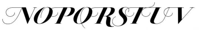 Jules Big Black Swashes Font UPPERCASE