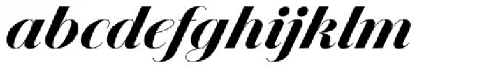 Jules Big Black Swashes Font LOWERCASE