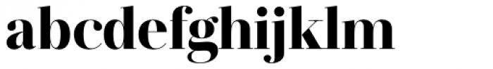 Jules Big Black Font LOWERCASE