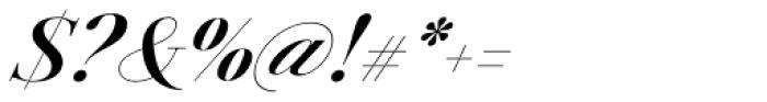 Jules Big Bold Italic Font OTHER CHARS
