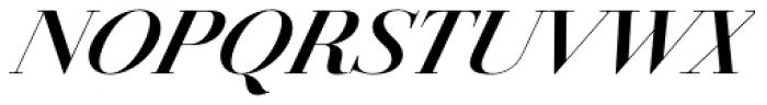 Jules Big Bold Italic Font UPPERCASE
