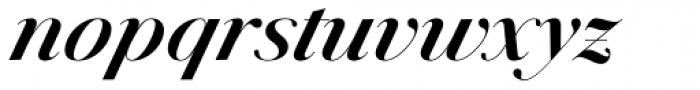 Jules Big Bold Italic Font LOWERCASE