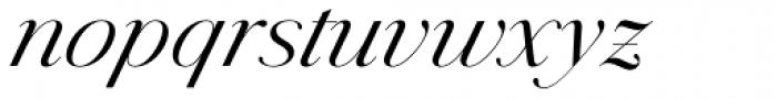 Jules Big Book Italic Font LOWERCASE