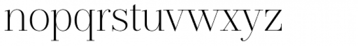 Jules Big Light Font LOWERCASE