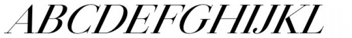 Jules Big Medium Italic Font UPPERCASE