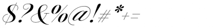 Jules Big Medium Swashes Font OTHER CHARS