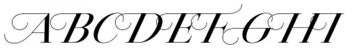Jules Big Medium Swashes Font UPPERCASE