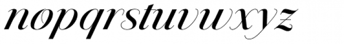 Jules Big Medium Swashes Font LOWERCASE