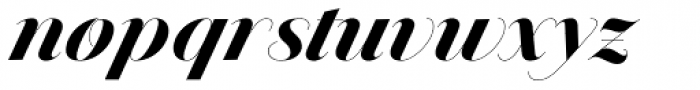 Jules Colossal Black Swashes Font LOWERCASE
