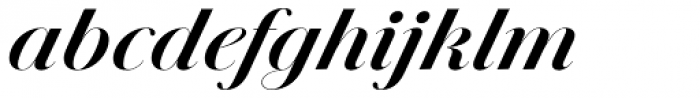 Jules Colossal Bold Italic Font LOWERCASE