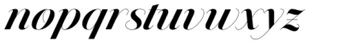 Jules Colossal Bold Swashes Font LOWERCASE