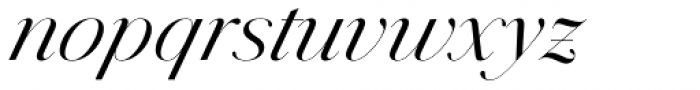Jules Colossal Book Italic Font LOWERCASE