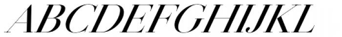 Jules Colossal Medium Italic Font UPPERCASE