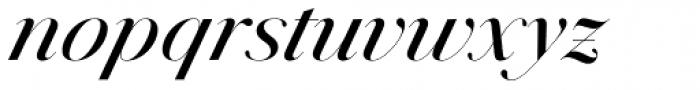 Jules Colossal Medium Italic Font LOWERCASE