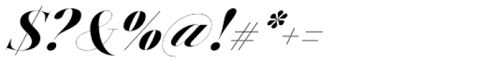 Jules Epic Black Italic Font OTHER CHARS