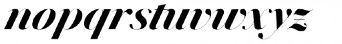 Jules Epic Black Italic Font LOWERCASE