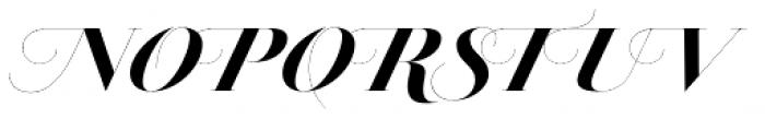 Jules Epic Black Swashes Font UPPERCASE