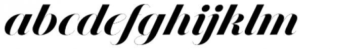 Jules Epic Black Swashes Font LOWERCASE