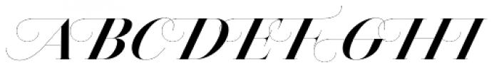Jules Epic Bold Swashes Font UPPERCASE
