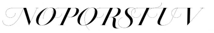 Jules Epic Medium Swashes Font UPPERCASE