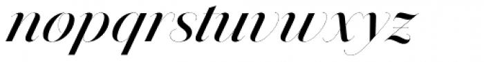Jules Epic Medium Swashes Font LOWERCASE
